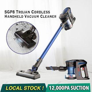Trojan SGP8 12000Pa Cordless Handheld Vacuum Cleaner / Cordless Vacuum Cleaner