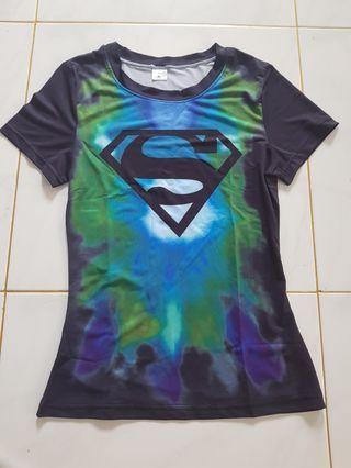 Supergirl( Body Hugging Shirt)
