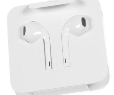 Apple原裝 iphone 耳機 , 跟x機送的,全新lightening頭