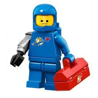 Lego Minifigure Movie 2 Benny Sealed