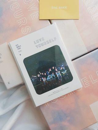 BTS LY Seoul DVD PO Benefit Sticker Pack
