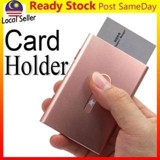 Slide Magic Business Card Holder Wallet Case Cover Aluminium