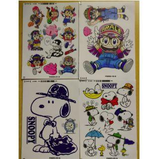 卡通貼紙  (Noo. N1N) 卡通防水貼紙 防水貼紙 waterproof sticker (plastic)