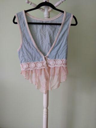 🚚 Lace vest #ENDGAMEyourEXCESS