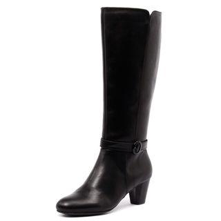 Myer Hush Puppies - Bibi Black Boot