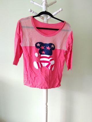 🚚 Pink Bear Top #ENDGAMEyourEXCESS