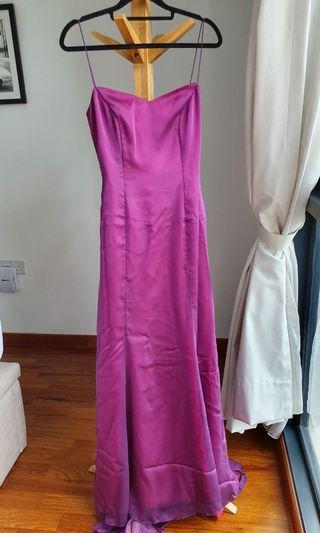 Purple Ethereal Evening Gown from Amanda Lee Weddings