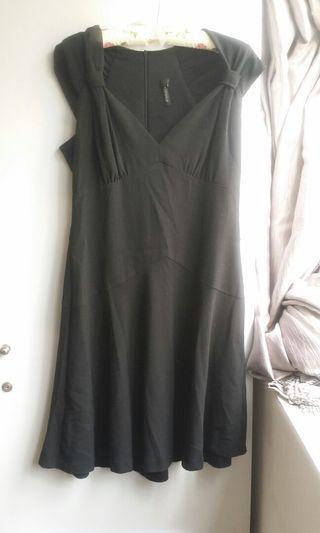 Topshop Black Dress #EndgameYourExcess