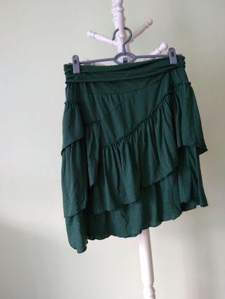 Green layer skirt #ENDGAMEyourEXCESS