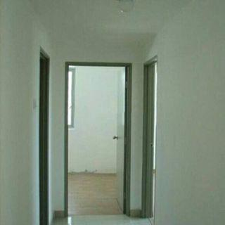 one south 3 room condo for rent partly furnish