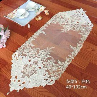 Lace Table Runner tablecloth table cloth