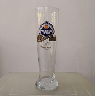 Schneider Weisse beer glass cup