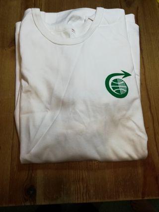 90年代懷舊全新香港大東電報局男裝T Shirt 罕有