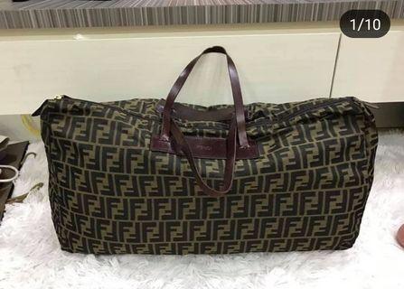 Authentic Fendi Monogram traveling bag