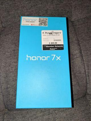 Honor 7x (mint condition)