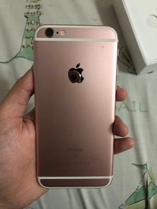 (REPRICE) iPhone 6s Rosegold 16gb
