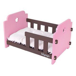 Ibiyaya Pet Crib Pink/Brown