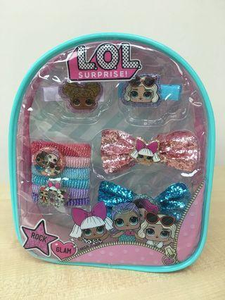 LOL hair accessory pack
