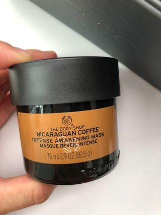 The body shop Nicaraguan Coffee intense mask