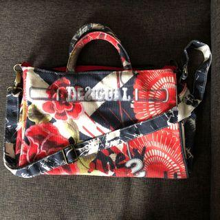 🚚 Ladies Fabric Bag with Sling and Handcarry
