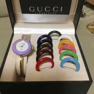 504b156a3c2 Authentic Gucci Bezel Watch