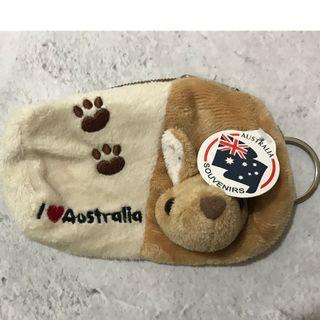 (全新澳洲買入) 袋鼠可愛小錢包