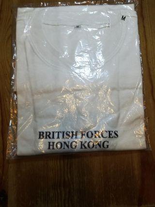 前朝英政府British Force Hong Kong T Shirt HKD180