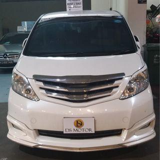 Toyota Alphard - Limousine/Rental/Personal (Premium)