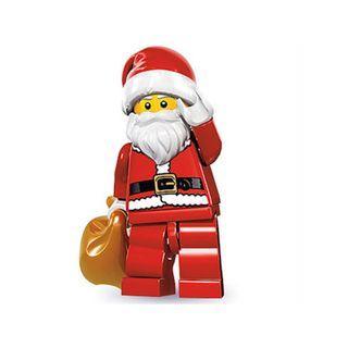 Lego Minifigure Series 8 Santa