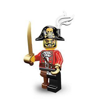 Lego Minifigure Series 8 Pirate