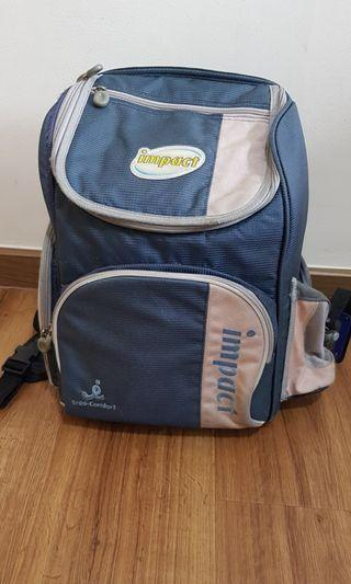 🚚 Used Impact school bag