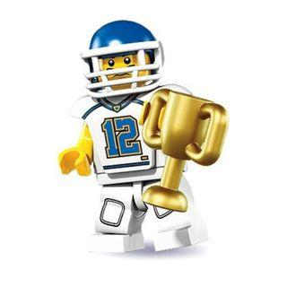 Lego Minifigure Series 8 Football Player