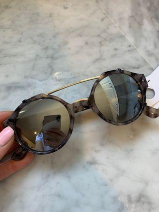 Brand New Black & Grey Tortoiseshell Sunglasses