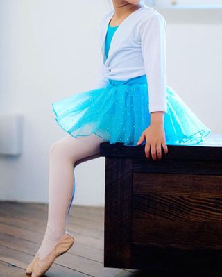 5e53f100daa The Ballet School full set uniform leotard tutu skirt