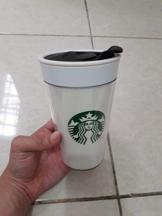 Tumbler Starbucks Grande Doodle (Bisa Ganti Cover)