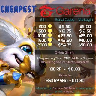 Garena Shell - Limited Time Promo!