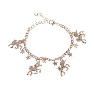 Unicorn Bracelet Gold
