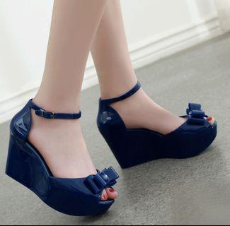 Jelly Bow Wedges