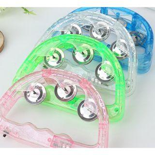 (Ready Stock)SN081 Half Moon Flashing LED Jingles Tambourine for Kids - Musical Instrument Educational Toy