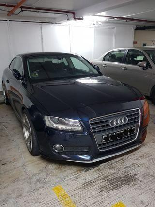 Audi A5 coupe. Super well kept