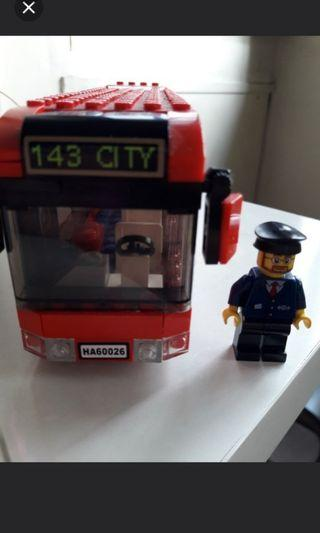 🚚 Lego City Downtown Red Bus