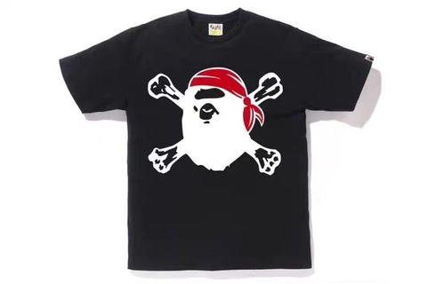 161f04f4 Bape A Bathing Ape Logo Tee, Men's Fashion, Clothes, Tops on Carousell