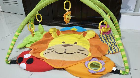 Baby play gym play mat