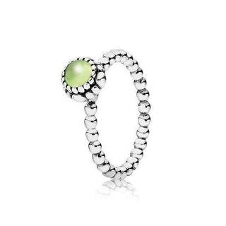 Pandora August Birthstone Ring - Green
