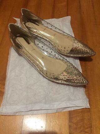 閃石膠片鞋