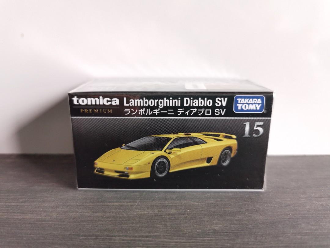 1 62 Tomica Premium Lamborghini Diablo Sv 15 Yellow Everything
