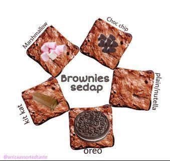 Brownies sedap murah assorted topping