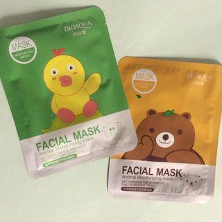 Sheet mask korea bioaqua, rorec, senana