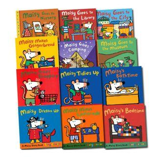 🚚 Maisy Mouse 10 Books Collection (10 story books + 2 sticker books)