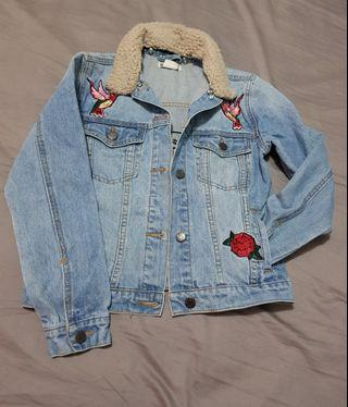 Girls size 12 denim jacket